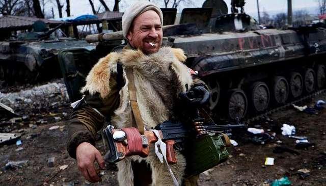 Блогер продемонстрировал приход русского мира в Донецк