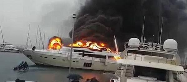 Кто сжег роскошную яхту российского толстосума в Турции