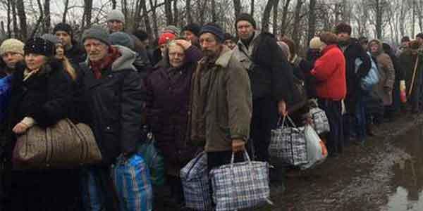 Украинских беженцев в разгар зимы выселяют на улицу