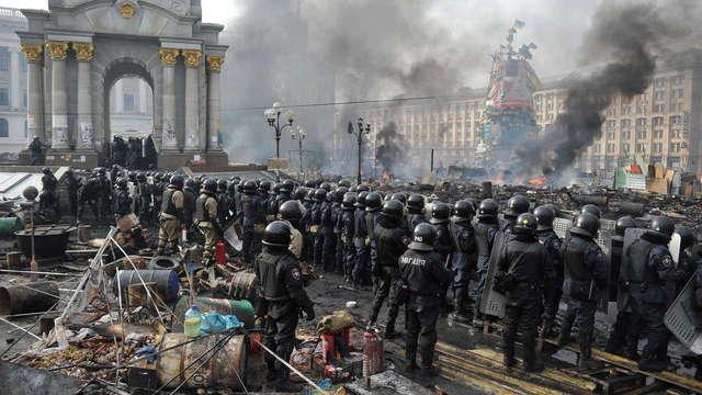 ГПУ приказала найти активистов Майдана, стрелявших в Беркут во время Революции достоинства