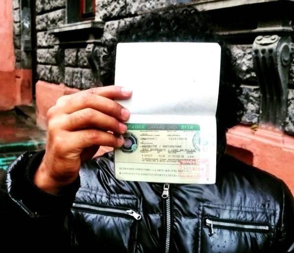 Виза в Украину одна из самых дорогих в мире