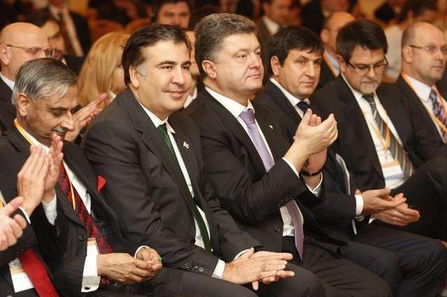 """Петр Порошенко: """"Подонок, бля. Грузін, бля, грузін. Департіровать його, блять, в Грузію і викінуть там на хуй."""""""