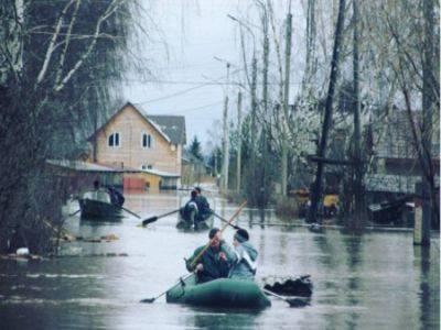 Дома почти восьми тысяч россиян затоплены из-за весеннего паводка