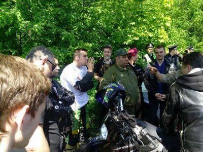 В центре Харькова неизвестные избили и прострелили ноги байкерам из клуба Ночные волки