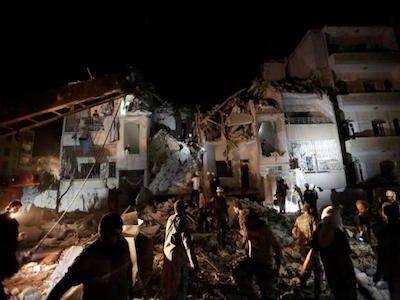 Правозащитники сообщили о погибших мирных жителях в Идлибе от авиаудара России