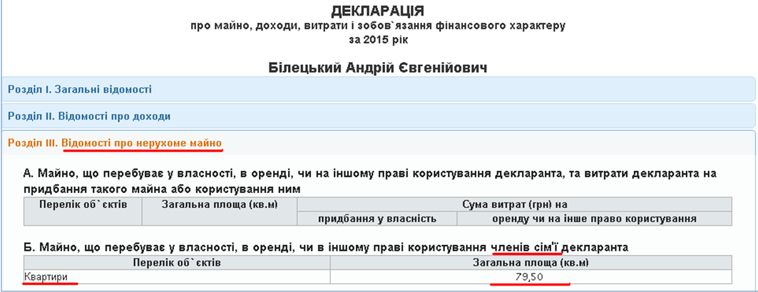Семья командира «Азова» Билецкого во время боев за аэропорт купила квартиру в киевском новострое