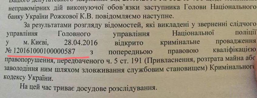 Екатерина Рожкова, Дмитрий Зинков и уголовное дело Платинум Банк