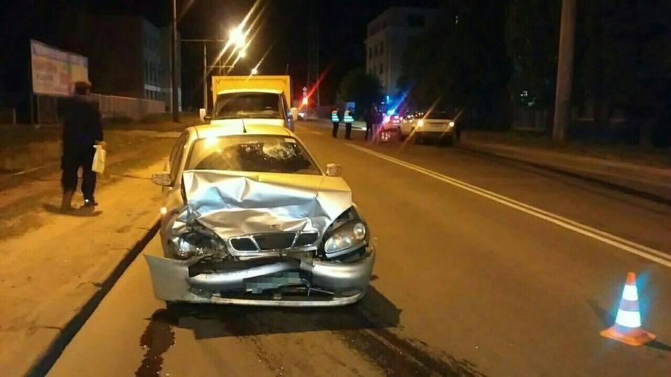 В Харькове пьяная дочь мэра попала в ДТП