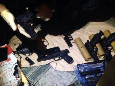 В Петербурге у главы военно-патриотической организации изъяли ППШ и обрез винтовки Мосина