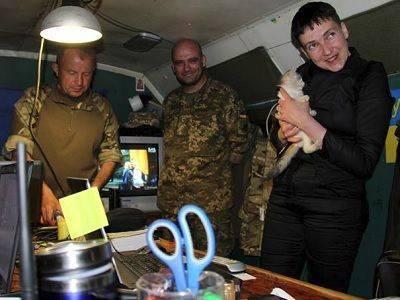 Савченко съездила в Донбасс