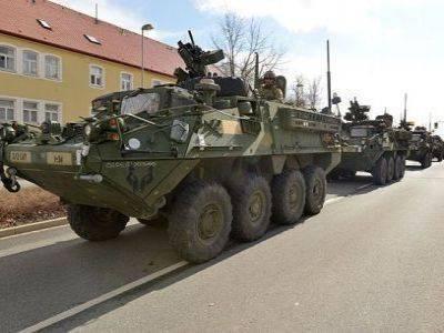 В Латвии начались тактические полевые тренировки в рамках военных учений НАТО Saber Strike