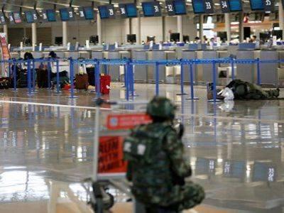 Власти Шанхая рассказали о взорвавшейся в аэропорту бомбе