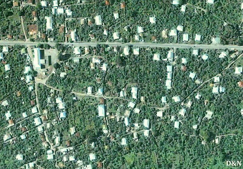 Самачабло (Южная Осетия) до «помощи» России и после (фоторепортаж)