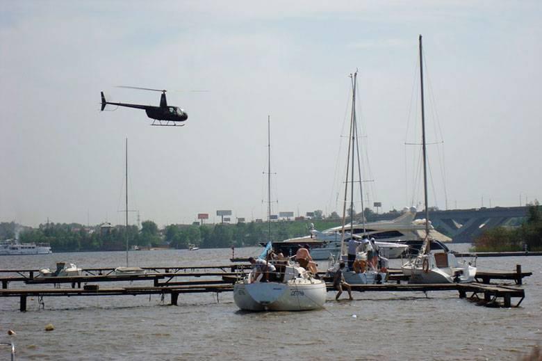 Рейдеры пытаются захватить яхт-клуб в Подмосковье