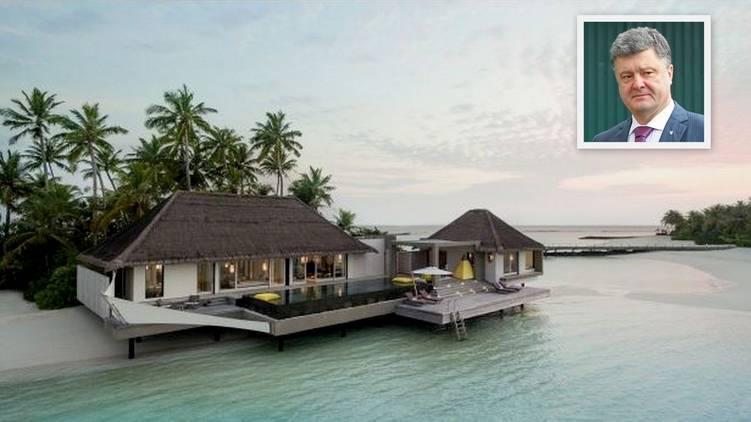 С — стабильность. Порошенко третий год ездит на один и тот же остров на Мальдивах