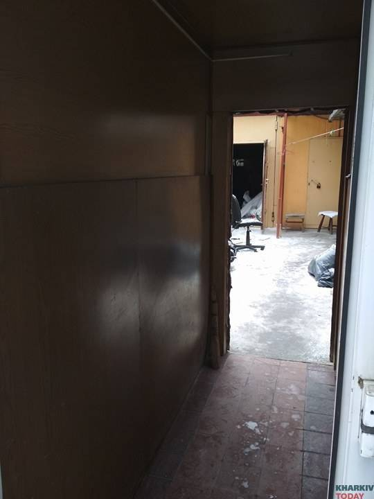 В Харькове сгорела фирма друга Авакова-младшего, который шил рюкзаки для армии
