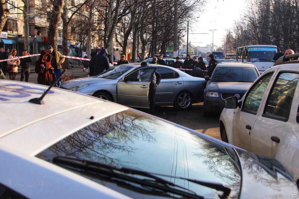 В Одессе возле детской площадки открыли стрельбу, есть раненые