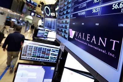 Valeant Pharmaceuticals оскандалилась в Украине