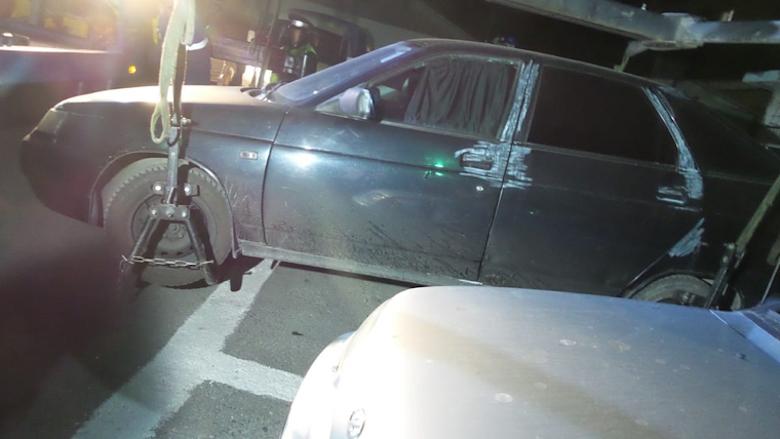 В Екатеринбурге обнаружили машину, из которой расстреляли пассажиров Audi