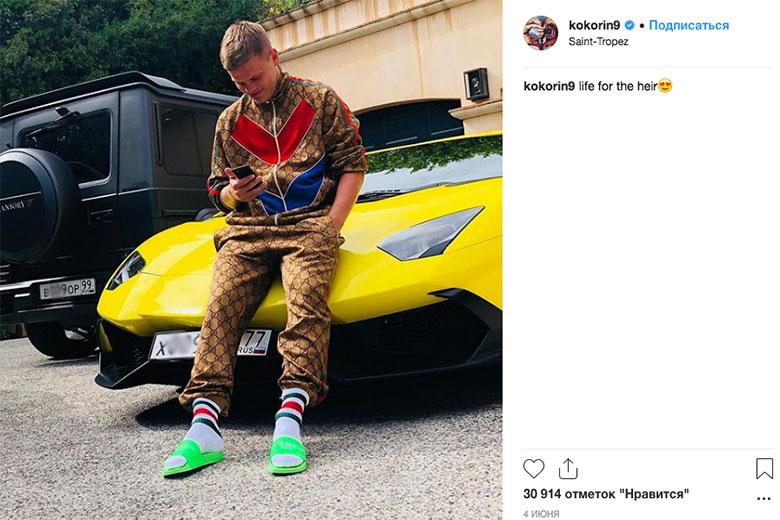 В автопарке футболиста Кокорина нашелся тюнингованный Gelandewagen с номером серии «ВОР»