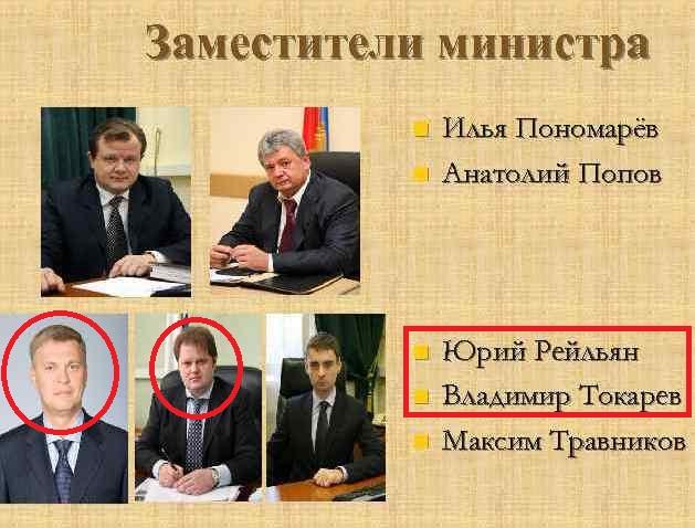 В антикоррупционном досье на бывшего VIP-чиновника Владимира Токарева засветился «клан» отца и сына Рейльянов