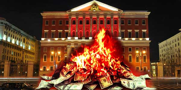 Похорошевшей Москве не хватает денег