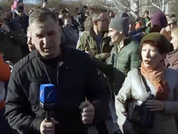 «Православный» журналист в Екатеринбурге попросил, чтобы ему дали в челюсть. И ему дали
