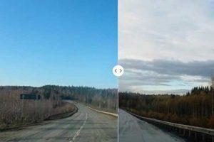 В Прикамье отчеты чиновников о ликвидации ям на дорогах и свалок оказались фотошопом