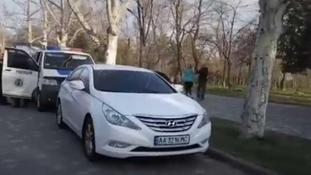 Замглавы патрульной полиции Одесской области ездил на авто с фальшивыми номерами