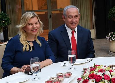 Сару Нетаньяху оштрафовали за чревоугодие за казенный счет