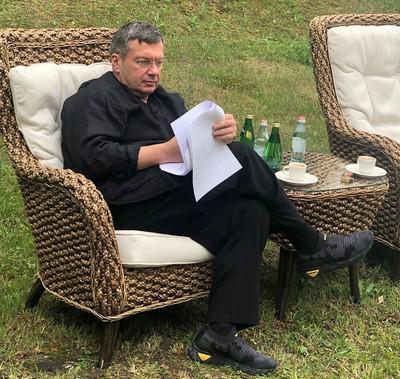 Владимир Соловьев «пригнездился» на озере Комо