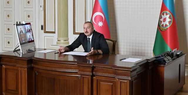 Президент Азербайджана Алиев записал издевательское видеопослание Пашиняну