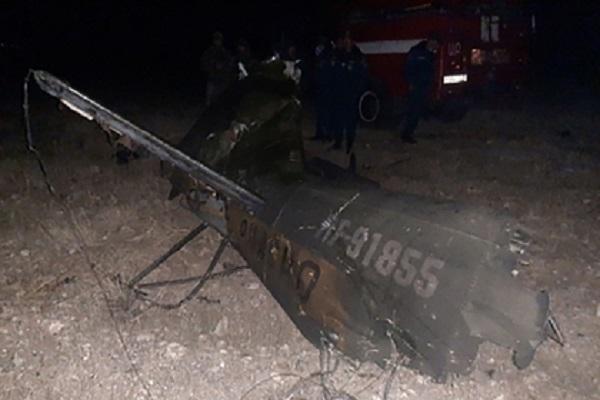 Российские следователи возбудили дело из-за сбитого Азербайджаном вертолета