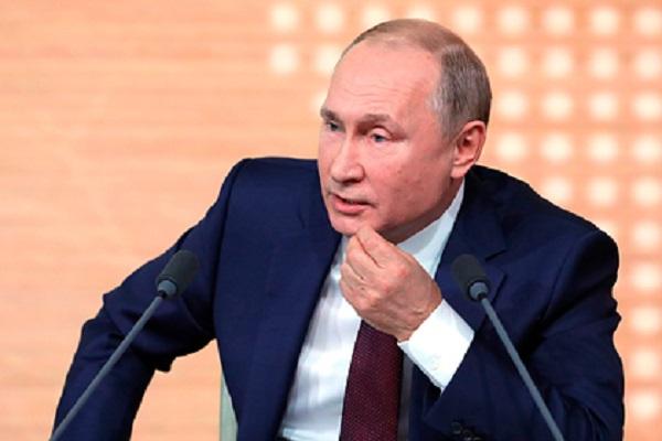 Кремль анонсировал большую пресс-конференцию Путина