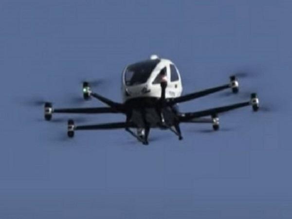Беспилотное летающее такси испытали в Сеуле