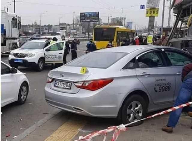 Таксиста, сбившего насмерть двух человек в Киеве, отправили за решетку