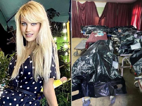 Бывшая «Мисс Самара» показала шокирующее видео из морга, переполненного телами умерших от COVID-19
