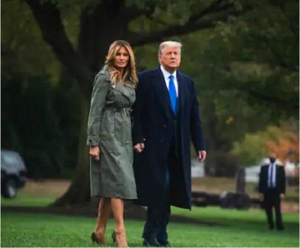 Друзья Мелании Трамп прояснили вопрос о ее разводе с Дональдом
