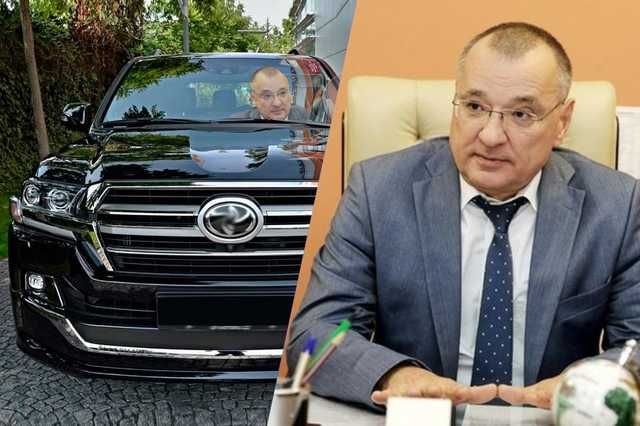 Администрация Белгорода потратила более 6 миллионов рублей на покупку машины для мэра Юрия Галдуна