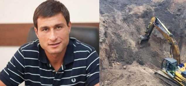 Одесский отморозок Олег Марков задержанный в Москве на контрабанде скифского золота украл его на Николаевском кургане
