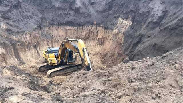 На Николаевщине «черные археологи» разрушают скифский курган