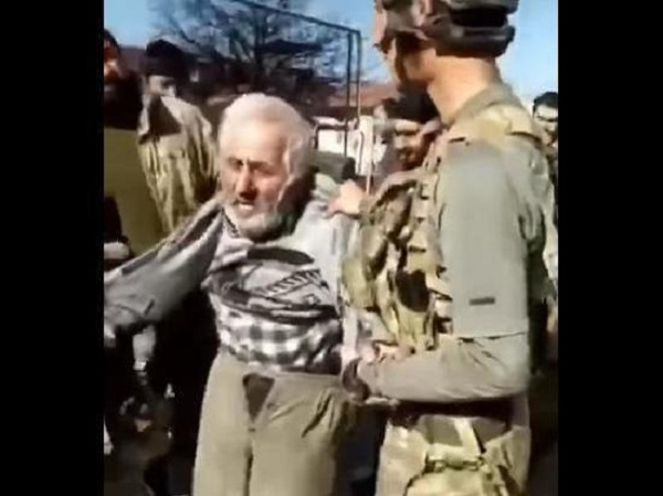 Омбудсмен Армении осудил поведение азербайджанских военных, унизивших старика