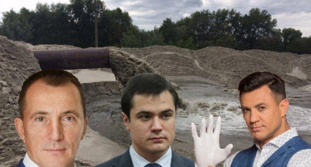 """У прокуратуры, полиции и Киевсовета не получается изгнать из-под Южного моста """"песочных старателей"""""""