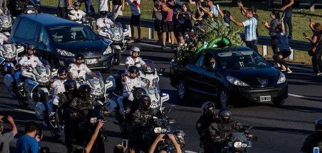 В Аргентине прошли секретные похороны Марадоны