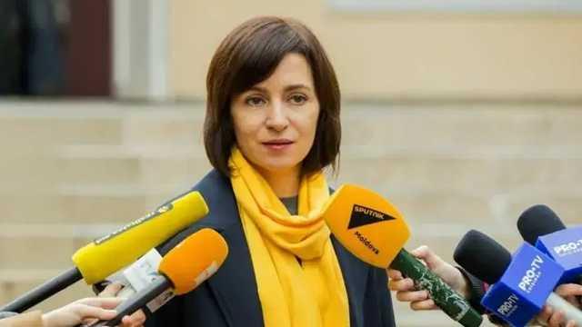 Санду высказалась за вывод российских войск из Приднестровья
