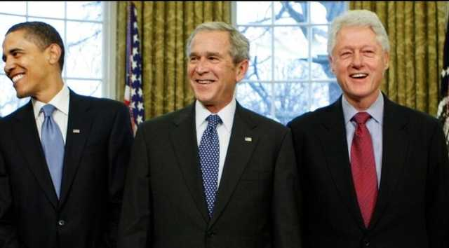 Клинтон, Буш и Обама готовы публично привиться от коронавируса, чтобы сбить волну недоверия к вакцине