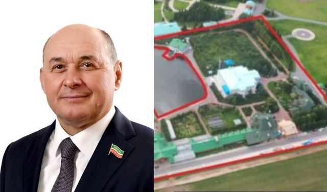 У депутата Госсовета Татарстана Ивана Егорова имеется коттедж по соседству с Рустамом Миннихановым