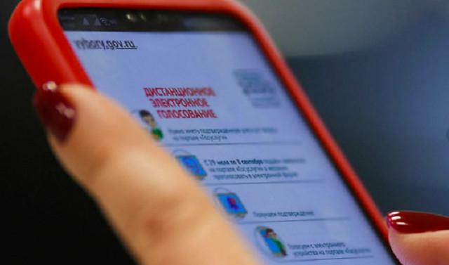 В Москве перестал открываться сайт электронного голосования
