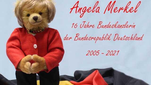 В Германии выпустили плюшевого медведя «Меркель»