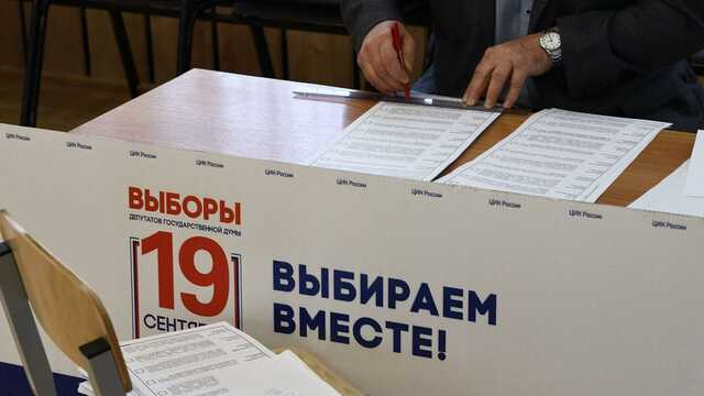 В сети показали видео фальсификации электронного «голосования» в российскую Думу на Донбассе